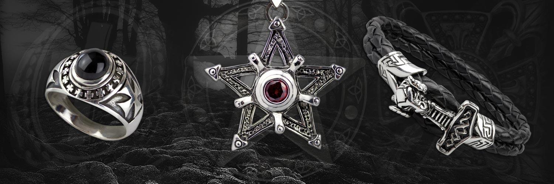 Mystischer Gothic Schmuck vom Feinsten - Geschmeide so außergewöhnlich wie du
